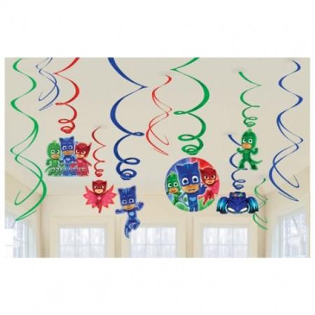 PJ Masks swirls - 12 pack