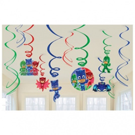 PJ Masks swirls - 12 pack