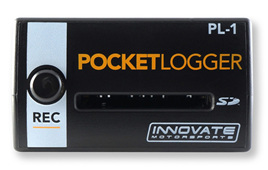 PL-1: Pocket Logger, Innovate MTS Datalogger