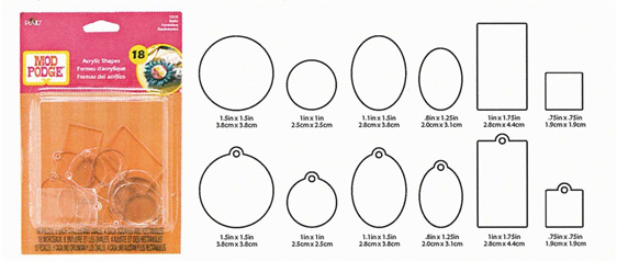 PL12918   Podgeable Shapes - Basic