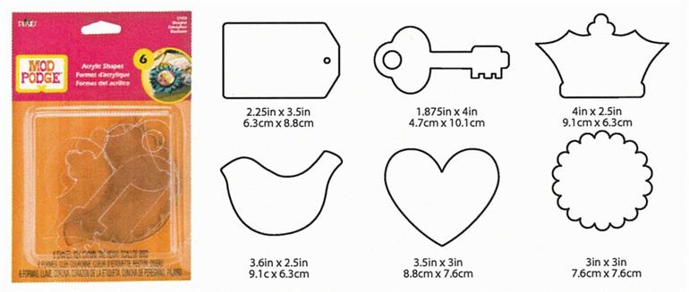 PL12920   Podgeable Shapes - Designer