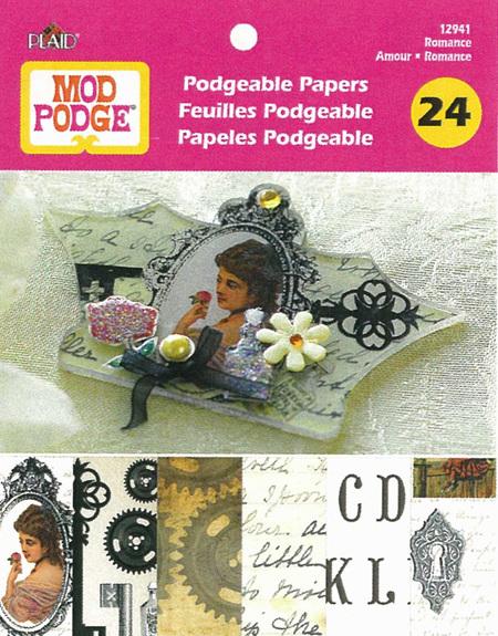 PL12941   Romance - Podgebale Papers