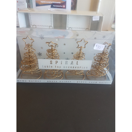 Placecard holders - x4