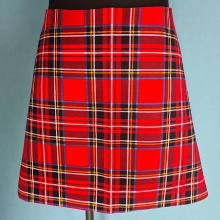 Plaid Skirt - Adult Size 12