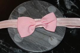 PLAIN BABY/TODDLER HAIRBAND - PALE PINK