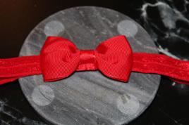 PLAIN BABY/TODDLER HAIRBAND - RED