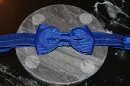PLAIN BABY/TODDLER HAIRBAND - ROYAL BLUE
