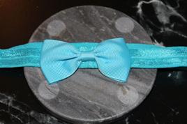 PLAIN BABY/TODDLER HAIRBAND - BLUE