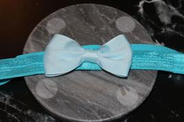PLAIN BABY/TODDLER HAIRBAND - LIGHT BLUE