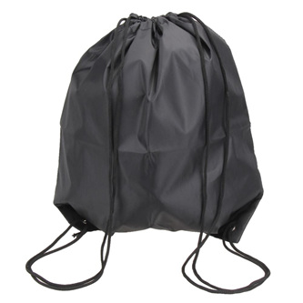 Plain Black Swim Bag