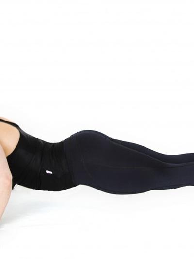 Plain Black Tights - Full Length