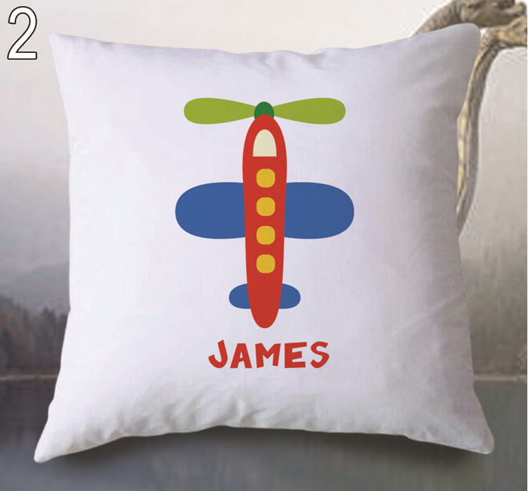 Plane  Personalised Cushion Cover
