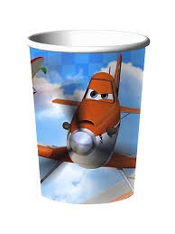Planes Cups x 8
