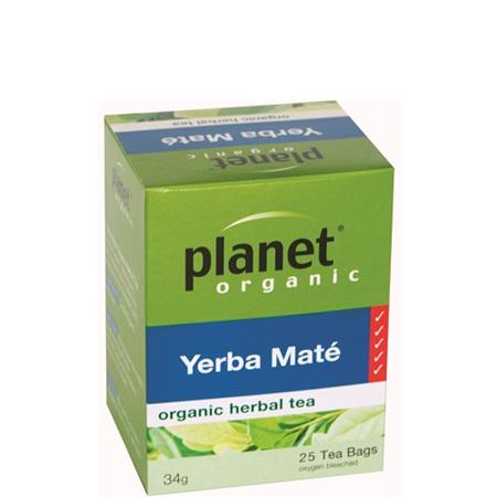 Planet Organic Tea Yerba Mate 25pk