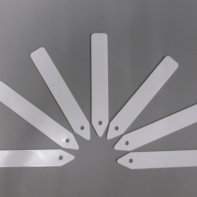 Plant Labels Plastic  125mm White 20 Per Pack