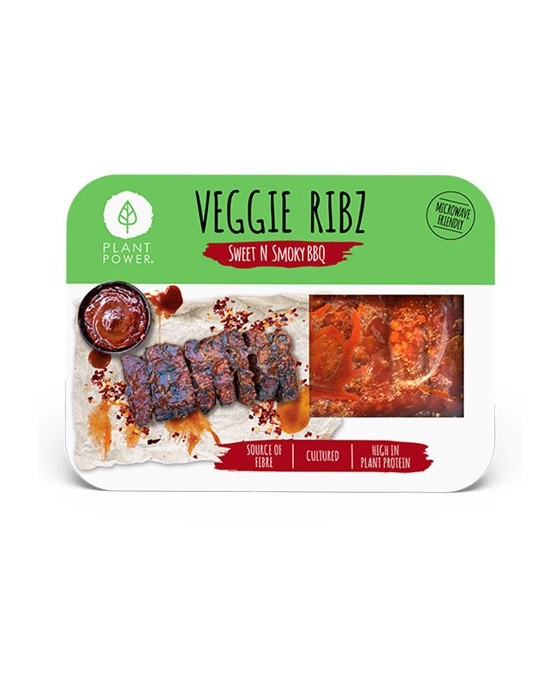 Plant Power Tempeh Spare Ribs