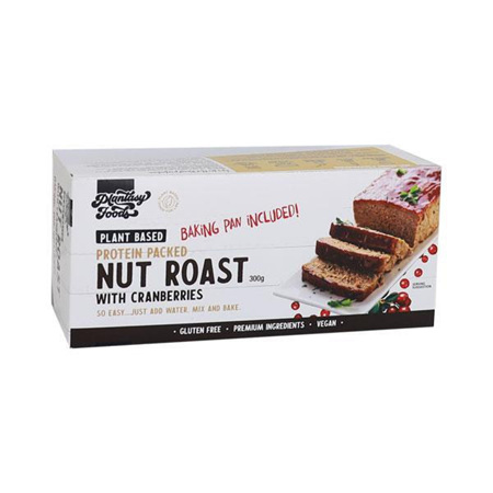 Plantasy Foods Nut Roast with Cranberries 300g