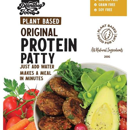 Plantasy Foods Protein Patty Original 200g