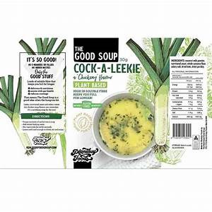 """Plantasy Foods The Good Soup """"Chickeny"""" Leek Soup 30G"""