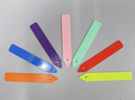 Plastic Plant Label Colored 125mm x 20 Per Pack
