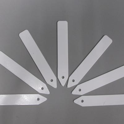 Plastic Plant Labels White 125mm 100 Per Pack