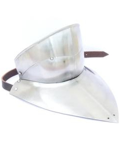 Plate 21 - 15th Century Gorget with Falling Buff Bevor