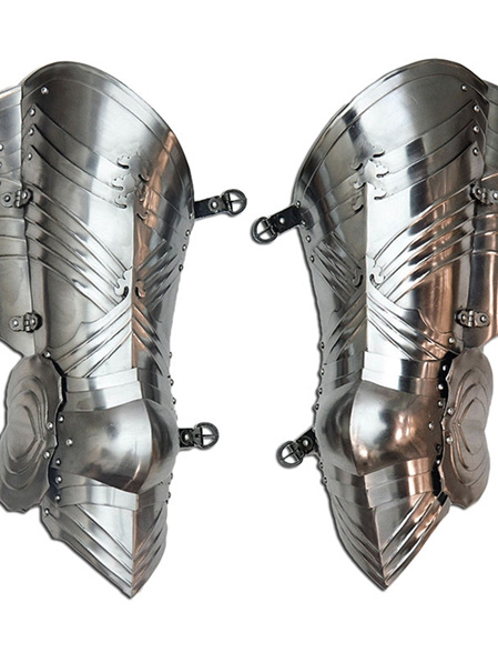 Plate 24 - Late 15th Century Gothic Style Upper Leg Armour