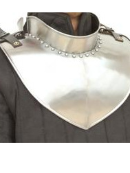 Plate 26 - 16th Century Gorget with Back Plate and Standing Collar