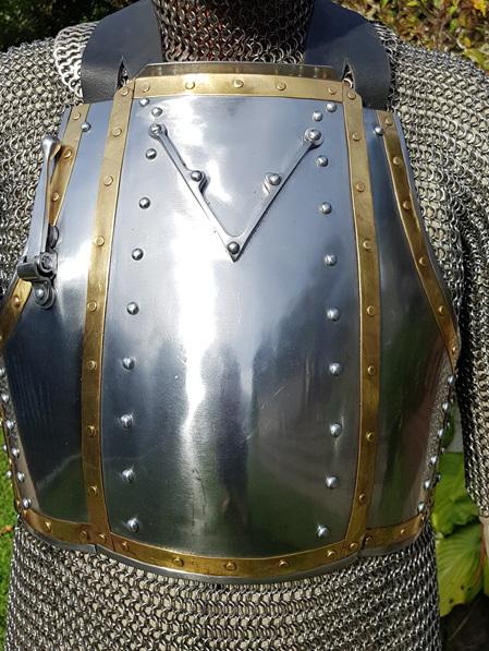 "Plate 8  - 14th Century ""Churburg"" Breastplate"