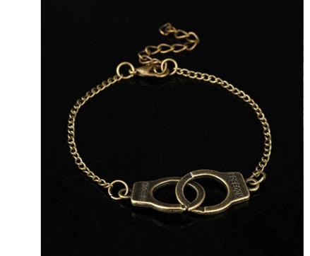 Plated Handcuff Bracelets (2 Options)