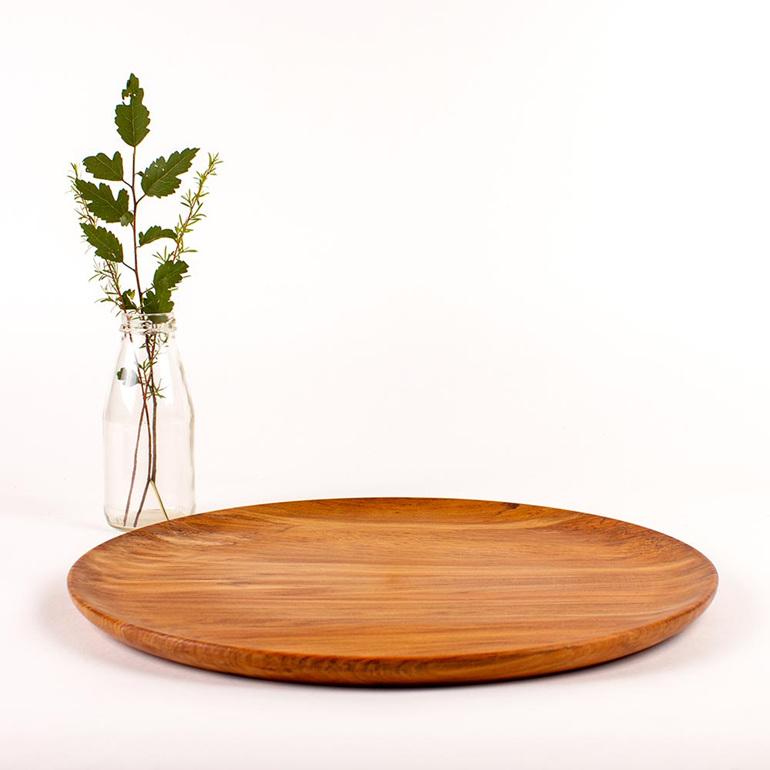 platter - heart rimu