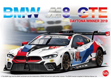 Platz/Nunu 1/24 BMW M8 GTE 24 Hours Of Daytona Winner 2019 (PN24010)