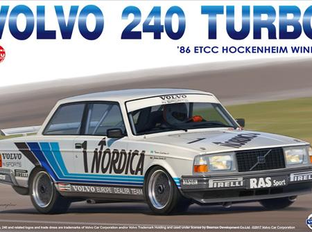 Platz/Nunu 1/24 VOLVO 240 TURBO '86 ETCC HOCKENHEIM WINNER (PN24013)
