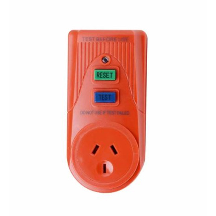Plug RCD Safety
