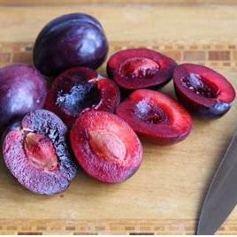 Plums Cert Organic (Red Mixed) 500g