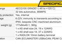 PMU 16 specs