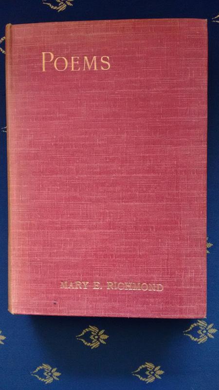 Poems - by Mary E. Richmond