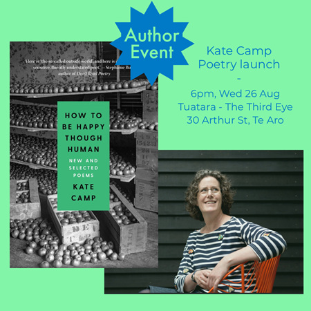Poetry Launch: Kate Camp