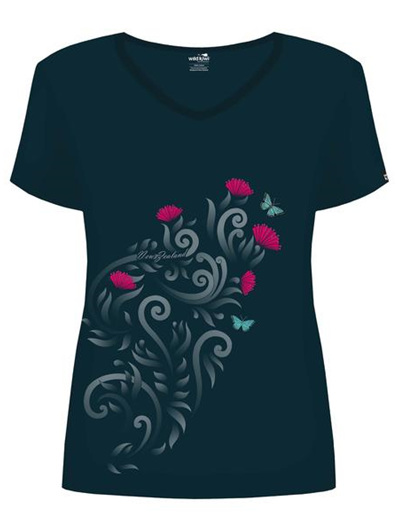 Pohutakawa Ladies Tee