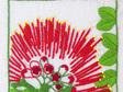 pohutukawa embroidery