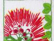 pohutukawa embroidery pattern