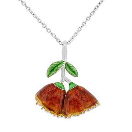 Pohutukawa Flower Necklace