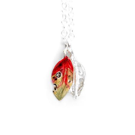 Pohutukawa Leaf Necklace