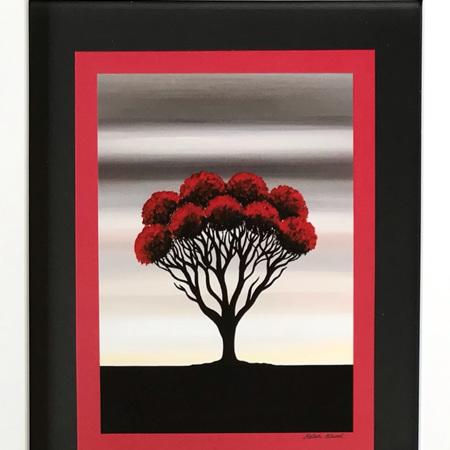 Pohutukawa - medium frame