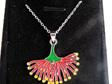 Pohutukawa pendant in a jewellery box