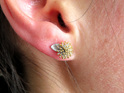 Pohutukawa Stud Earrings