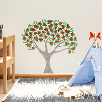 Pohutukawa Tree wall decal