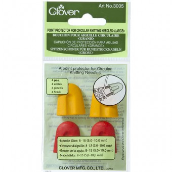 Point Protector for Circular Knitting Needles (Large)