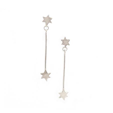 Pointer Star Earrings