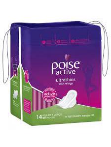 POISE Active Ultrathins Regular 14: